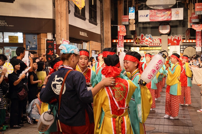 第61回よさこい祭り☆本祭2日目・はりまや橋競演場12☆上1目1424