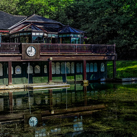 Lakehouse 15 by Michael Ferguson - City,  Street & Park  City Parks ( water, lakehouse, lakehouse 15, house on the water, park, roundhay, house )