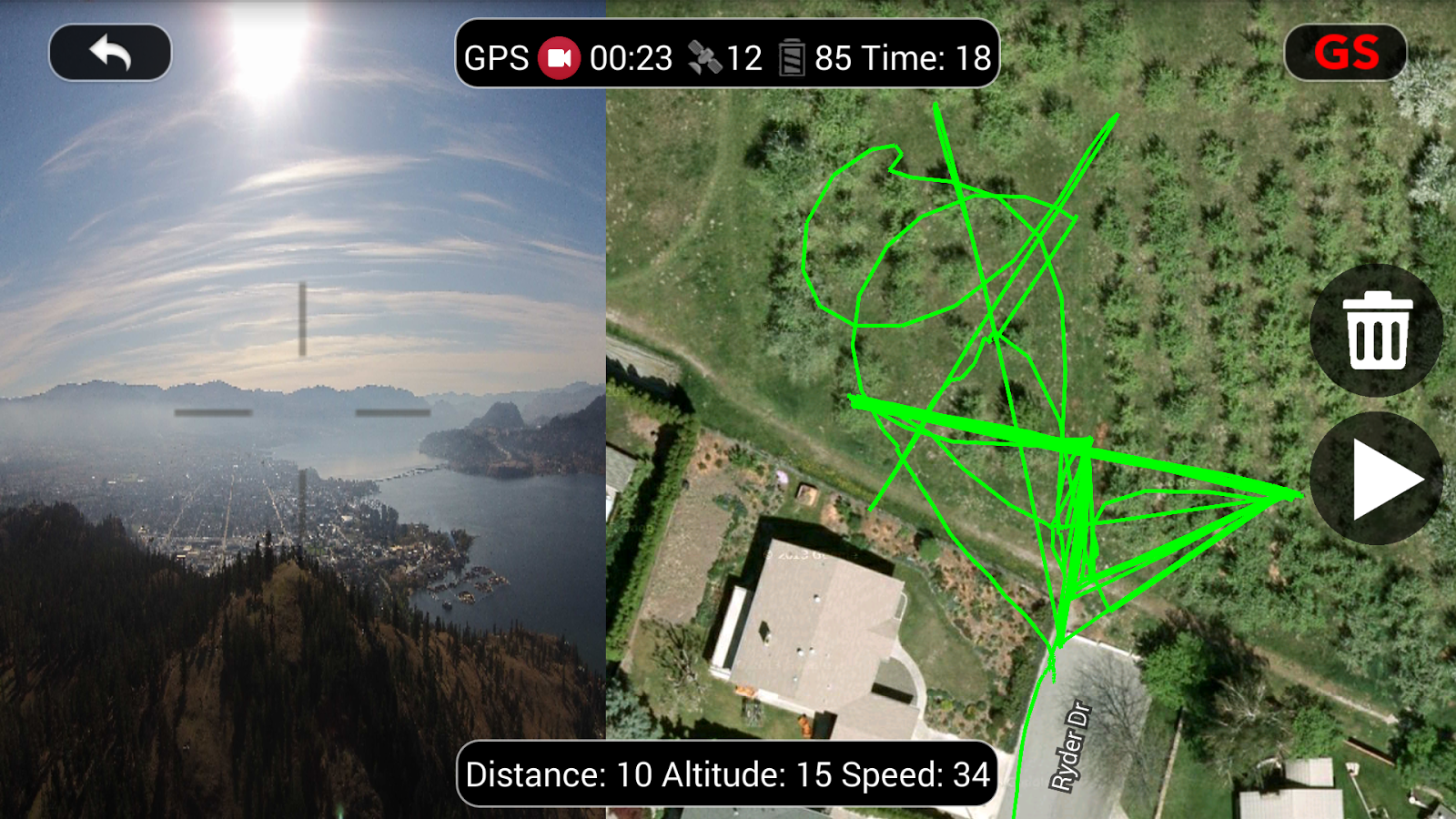 DJI Phantom Flight (v3) Screenshot 5