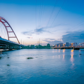 river by Dat Nguyen - Buildings & Architecture Bridges & Suspended Structures