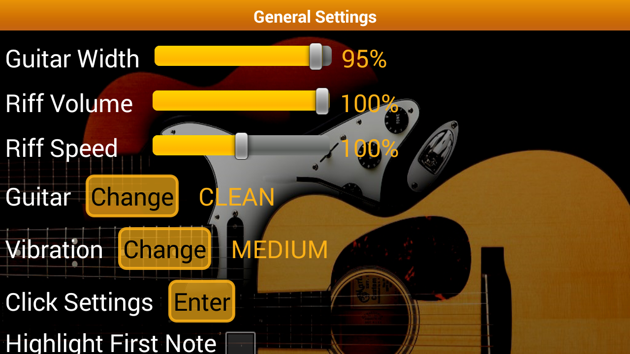 Guitar Tutor Pro - Learn Songs Screenshot 6