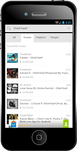 Chief Keef Earned It Songs - screenshot