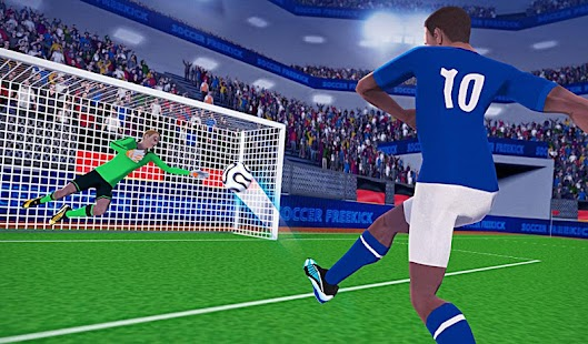 Game FreeKick Soccer World Champion APK for Kindle
