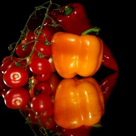 orang with red by LADOCKi Elvira - Food & Drink Fruits & Vegetables ( vegetables, pepers )