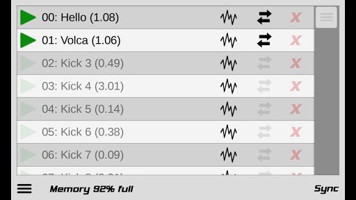 Caustic Editor for VolcaSample screenshot 1