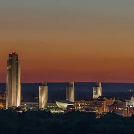 Albany, NY by John Herald - City,  Street & Park  Skylines