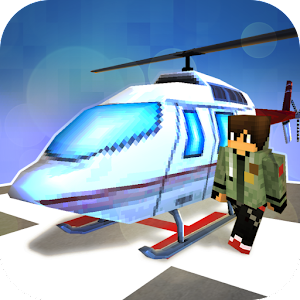 Helicopter Craft: Flying & Crafting Game 2017 For PC