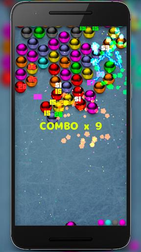 Magnetic balls bubble shoot screenshot 12