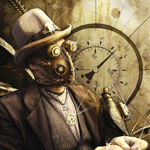 Steampunk fantasy wallpapers android apps on google play for Steampunk wallpaper home