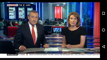 Screenshot of Sky News