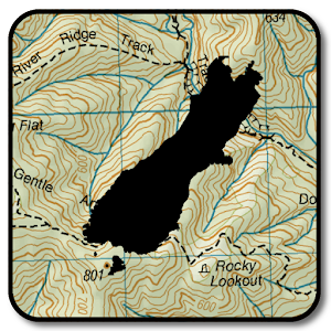 NZ Topo50 Offline Sth Island Map and Hunting Areas For PC / Windows 7/8/10 / Mac – Free Download