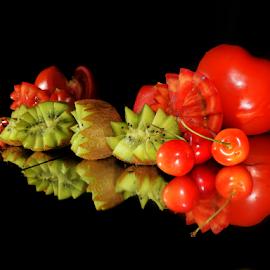 red and green by LADOCKi Elvira - Food & Drink Fruits & Vegetables ( fruits, vegetables,  )