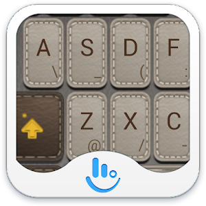 Cover art TouchPal Leather Theme