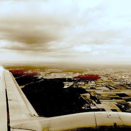 Im Flugzeug by Marianne Fischer - Instagram & Mobile iPhone