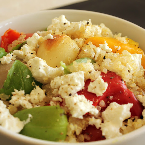 Vegetables, Goat Cheese & Quinoa
