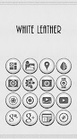 Screenshot of White Leather TSF Shell Theme