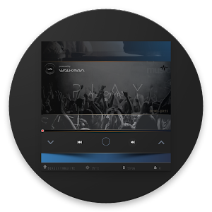 Gradiant Player For KLWP APK Cracked Download