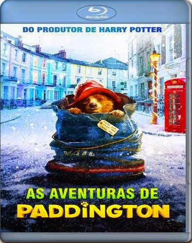Filme Poster As Aventuras de Paddington BDRip XviD Dual Audio & RMVB Dublado