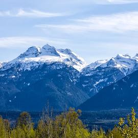 Mount Begbie by Corey Yeatman - Landscapes Mountains & Hills ( mountain, revelstoke, snow, spring, bc )