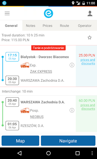 e-podroznik.pl screenshot 9