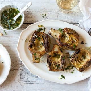 Artichokes with Lemon and Herbs