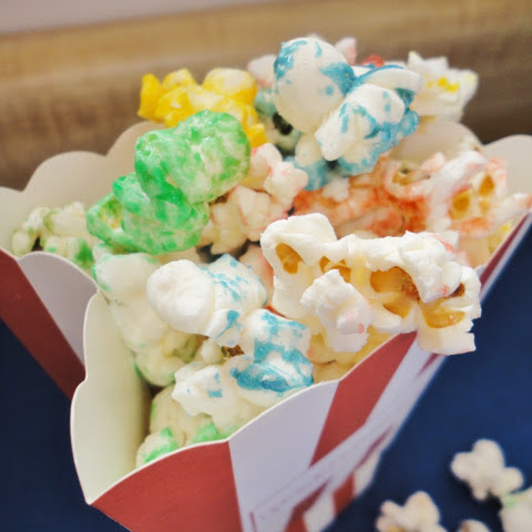 Sweet & Salty Rainbow Popcorn