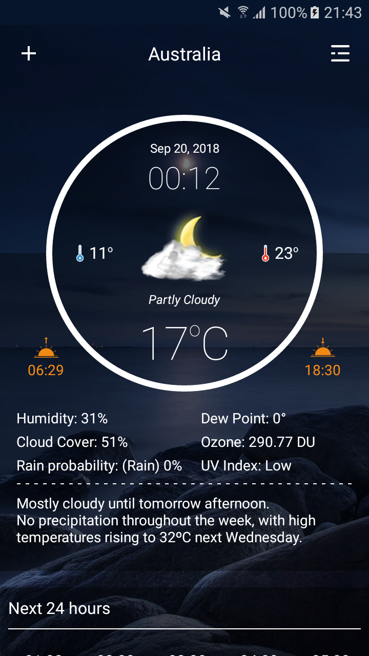 Weather Forecast Pro Screenshot 0