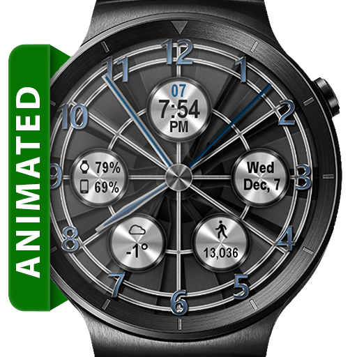 Turbo Fan HD Watch Face