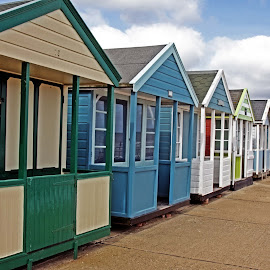 Southwold beach huts 03 by Michael Moore - Buildings & Architecture Other Exteriors