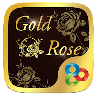 Gold Rose GO Launcher Theme For PC (Windows And Mac)