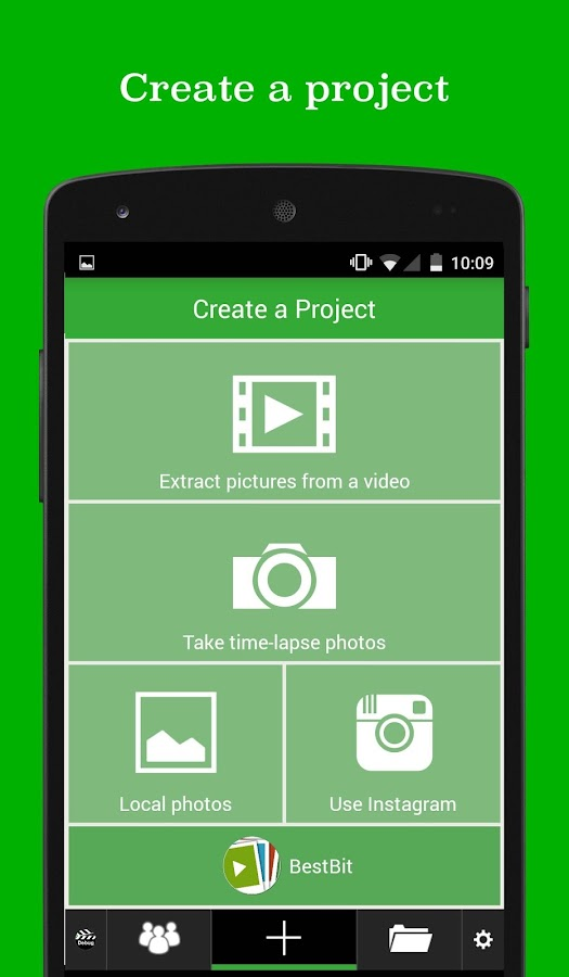 PicPac Stop Motion Pro Screenshot 1
