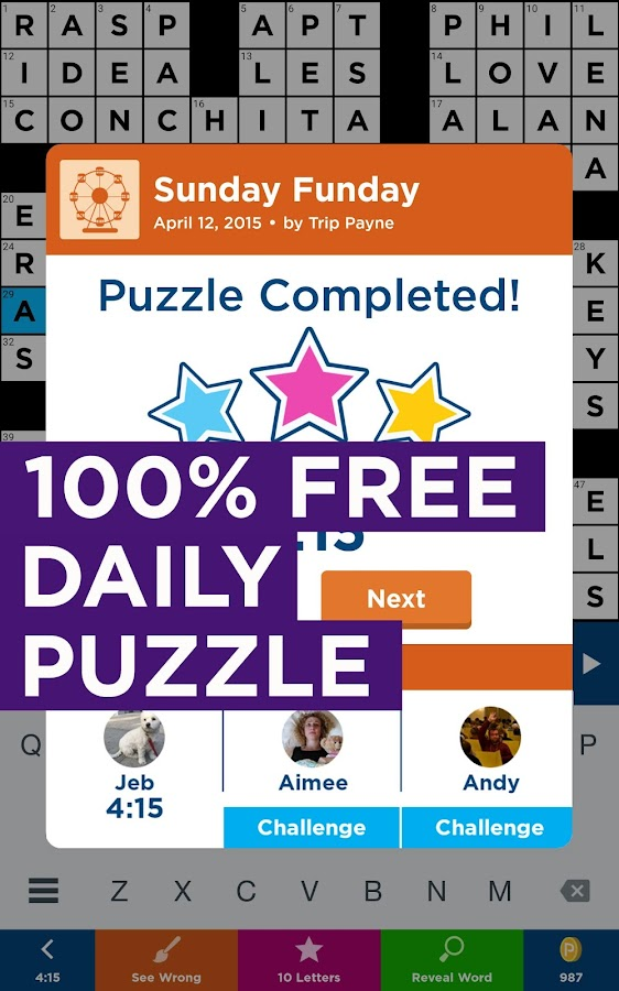 Daily Celebrity Crossword Screenshot 9