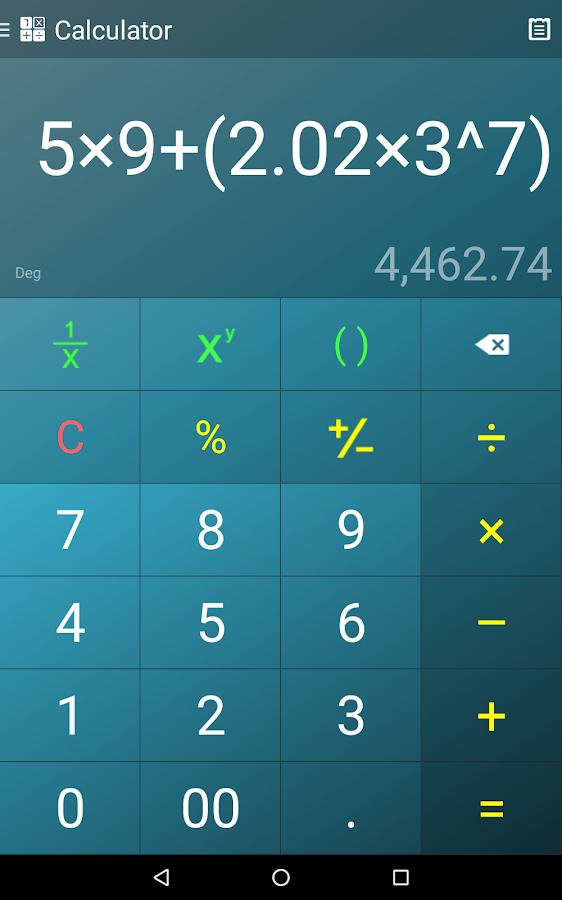 Multi Calculator Screenshot 18