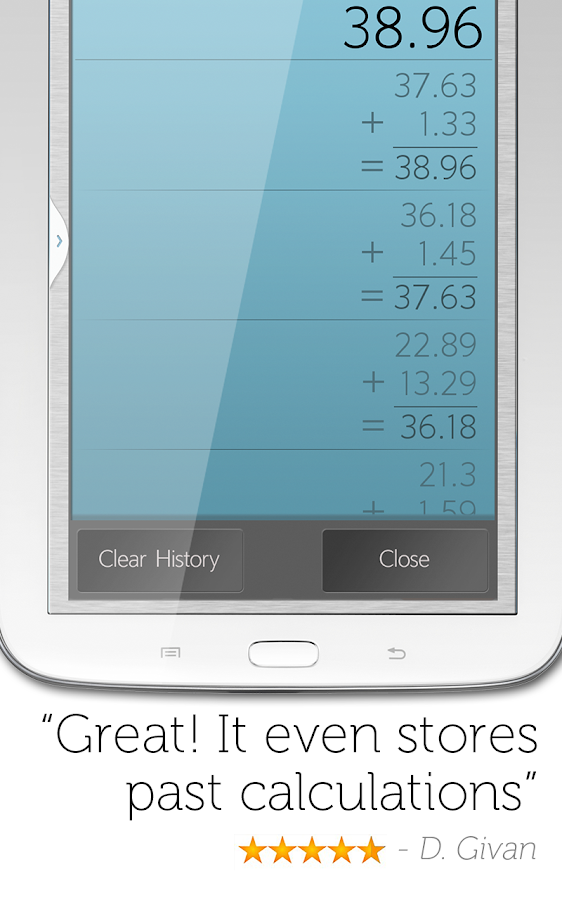 Calculator Plus Screenshot 6