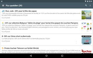 Screenshot of Max de bons plans