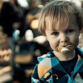 Kid1 by Eric Zittel - Babies & Children Child Portraits ( child, individual, candid, toddler, portrait )