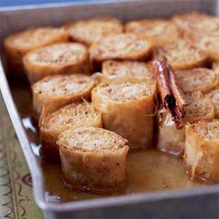 Baklava Rolls Recipes