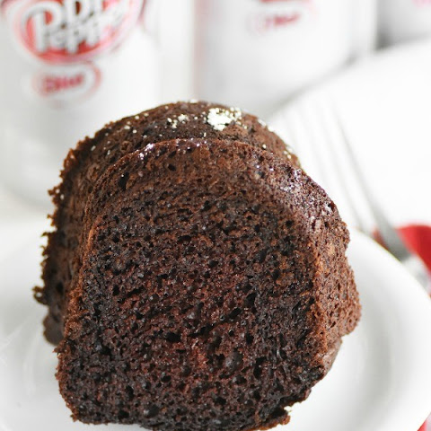 Diet Dr Pepper® Chocolate Cake