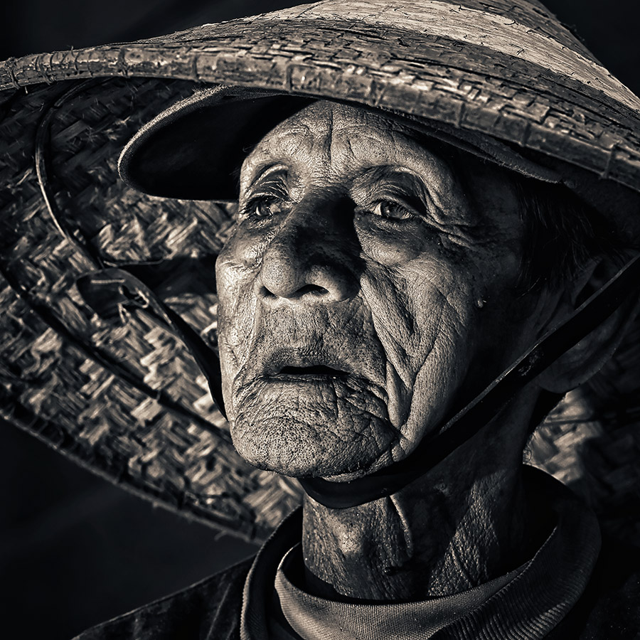 The Ferryman by Lucky E. Santoso - People Portraits of Men ( senior citizen )