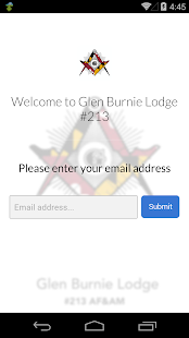 Glen Burnie Lodge #213 - screenshot