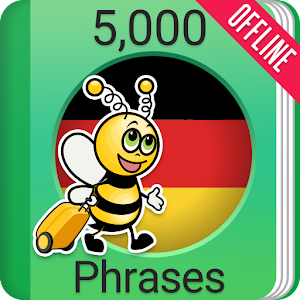 Learn German Phrasebook - 5000 Phrases