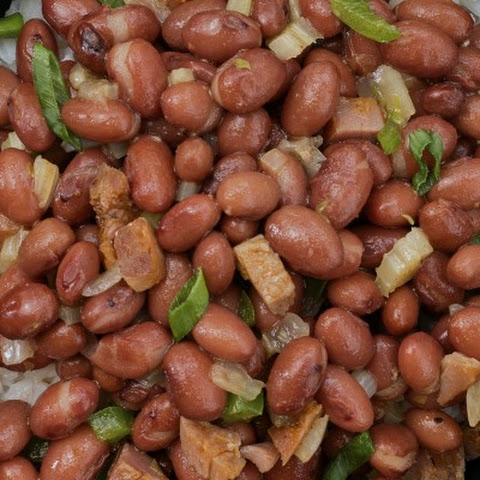 Pressure Cooker Red Beans with Tasso and Cajun Spice