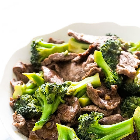 Chinese-American Beef And Broccoli With Oyster Sauce Recipes ...