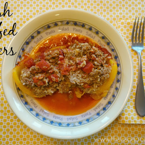 Polish Stuffed Peppers (Gluten-free, Grain-free Option)