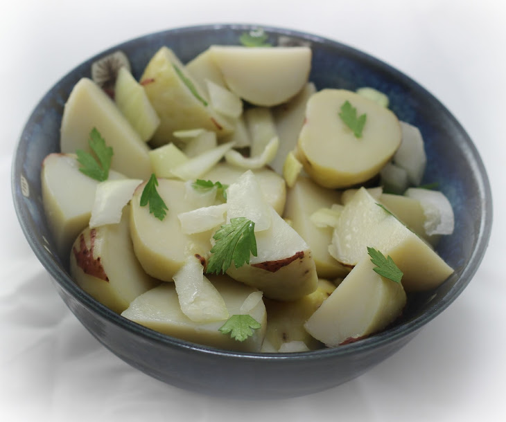 Oil and Vinegar Potato Salad Recipe | Yummly