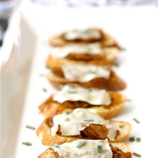 Caramelized Onion Crostini Recipes