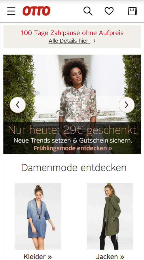 OTTO - Mode & Fashion-Shopping Screenshot 0