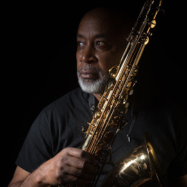 Saxman by Micheal Neal - People Musicians & Entertainers ( musician jazz saxophonist )