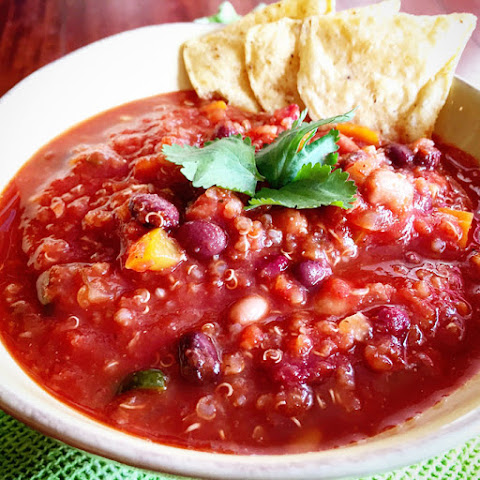 Three Bean Quinoa Chili