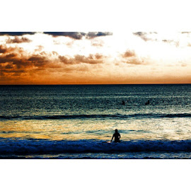 Candy Skies by Dinda Rifa Larasati II - Landscapes Beaches